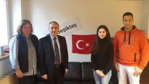 Zu Gast im Thomizil: Dr. Osman Nuri Hasirci von Turkish Airlines
